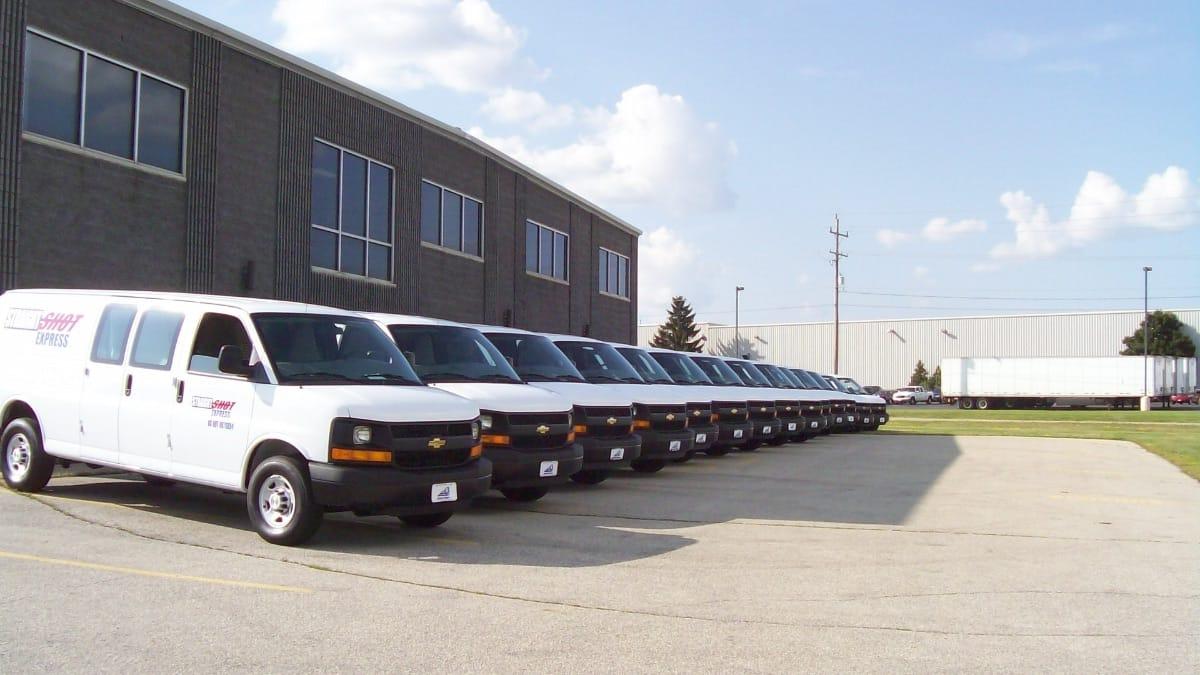 straight shot express vans